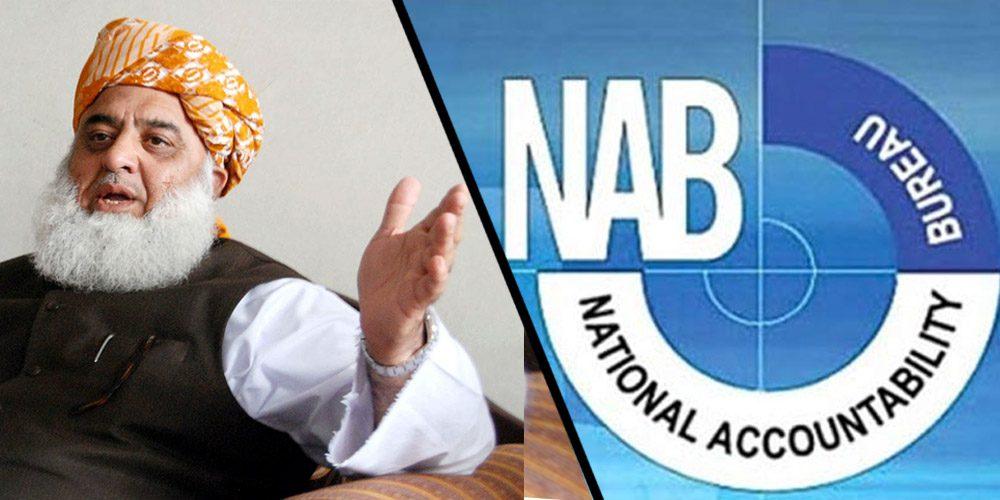 NAB initiates investigation against Maulana Fazal-ur-Rehman