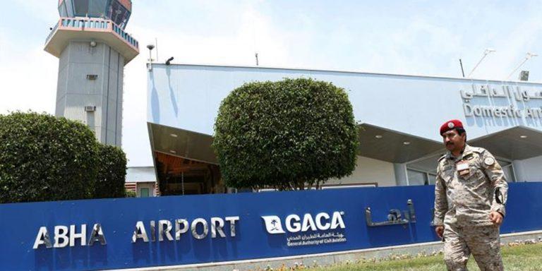 Houthi rebels saudi airport attack foiled