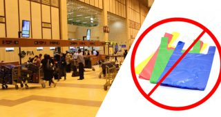 Plastic bags banned at Karachi airport