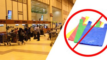 Plastic bags banned at Karachi airport