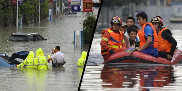 Flooding kills 13
