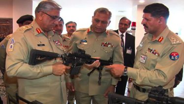 COAS visits Pakistan ordnance factory