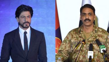 DG ISPR Major Asif Ghafoor slams Shahrukh Khan