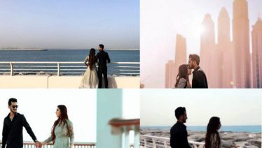 Hassan Ali's pre wedding shoot in Dubai