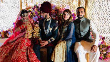 Hasan Ali and Samia Arzoo Wedding