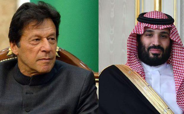 Saudi Crown Prince telephones PM