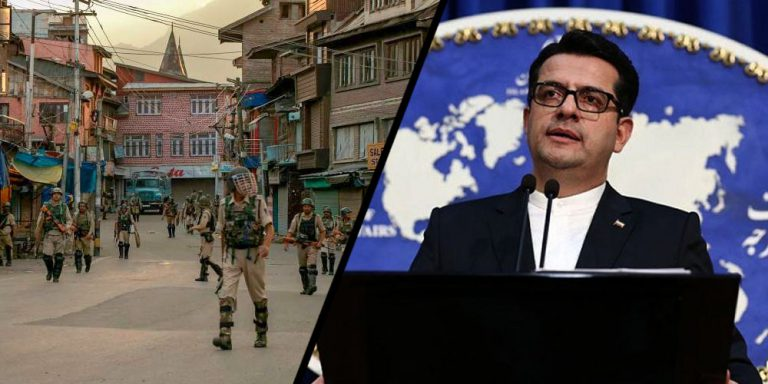 Iran concerned over tight6 security lockdown in Kashmir