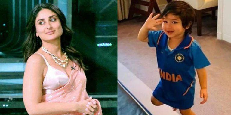 Kareena wants Taimur Ali Khan to be a cricketer
