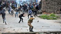 Six martyred and 100 injured by Indian forces firing