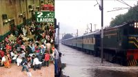 Train service effected due to heavy Rain