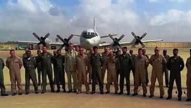 Germnan naval aircraft visit Naval airbase Mehran