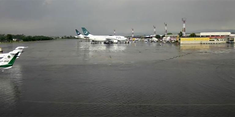 Many PIA flights canceled due to heavy rain