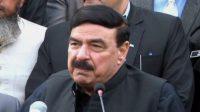 Shiekh Rasheed on chairman Senate