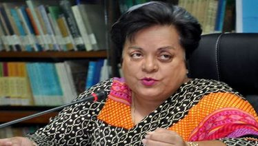 Shireen Mazari speaks against Indian atrocities