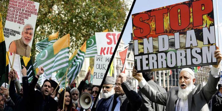 Black day protest Indian high commission London