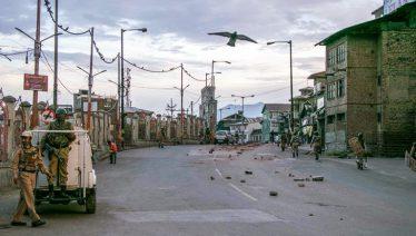 Kashmir curfew enters the 17th day
