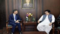 Sadiq Sanjrani meets Chinese Ambassador Yu Jing