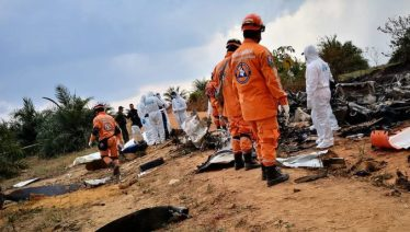 Colombia plane crash kills seven