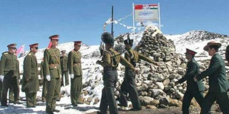 Chinese, Indian troops clash