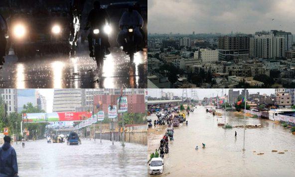 Monsoon in Karachi