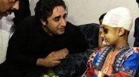 Bilawal Bhutto visits quake-hit areas of AJK