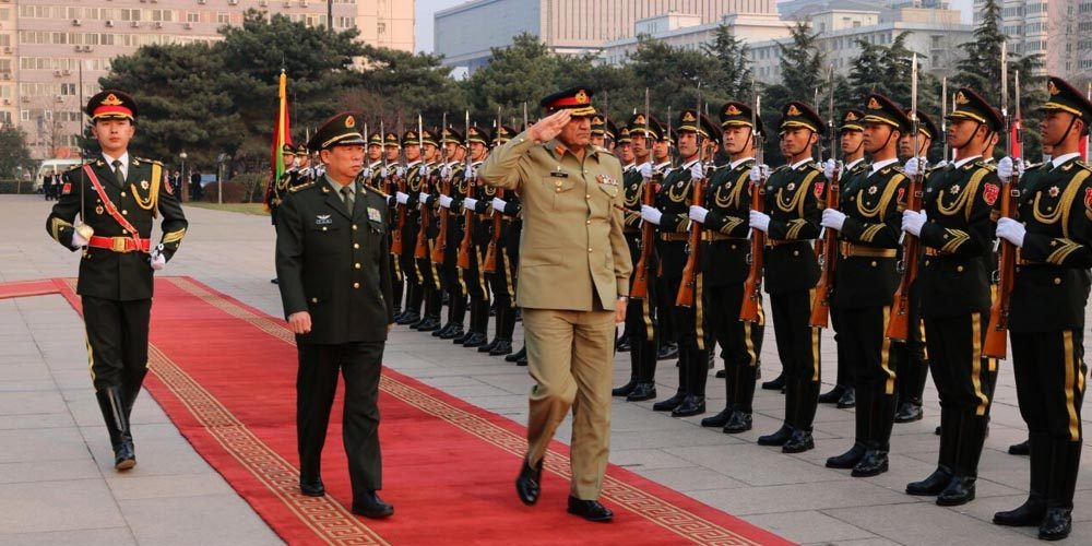 Amy Chief meets Chinese military officials
