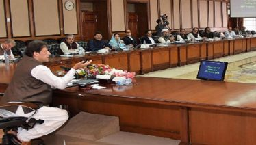 PTI core comittee meets to strategise on JUI-F's Azaadi March