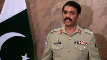 Director General Inter Service Public Relation Major General Asif Ghafoor