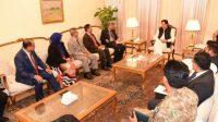 Malaysian Parliament Speaker calls on PM Imran Khan