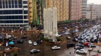 Power outage as intermittent rain continues to lash Karachi