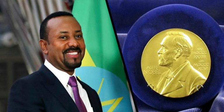 Image result for images of Ethiopian Prime Minister, Abiy Ahmed Ali wins Nobel Peace Prize for 2019