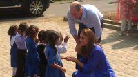 Royal Couple visits Girls High School