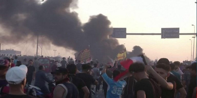 UN expresses concern following wave of street protests in Iraq
