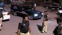 firing incident in Karachi