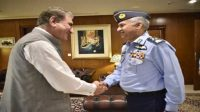 FM Qureshi Meets Air Chief to Discuss Regional Security