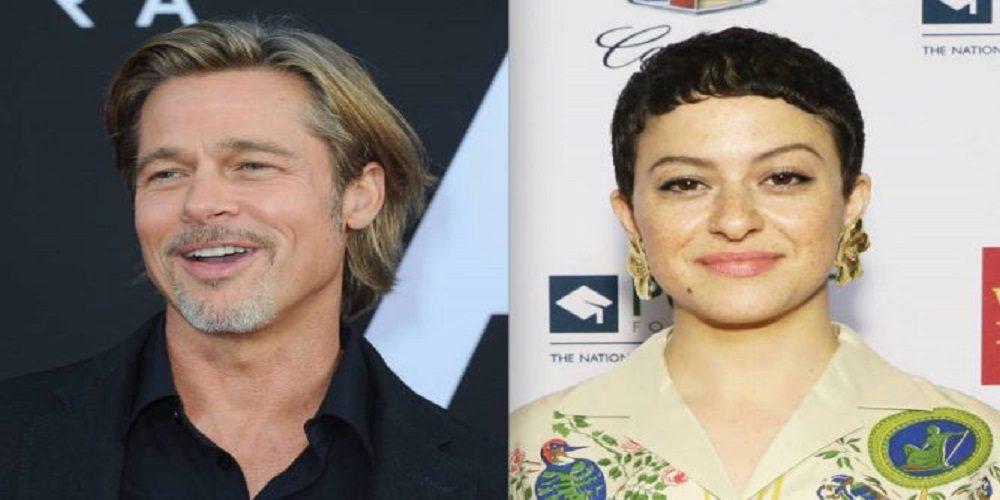 Brad Pitt spends time with Alia Shawkat