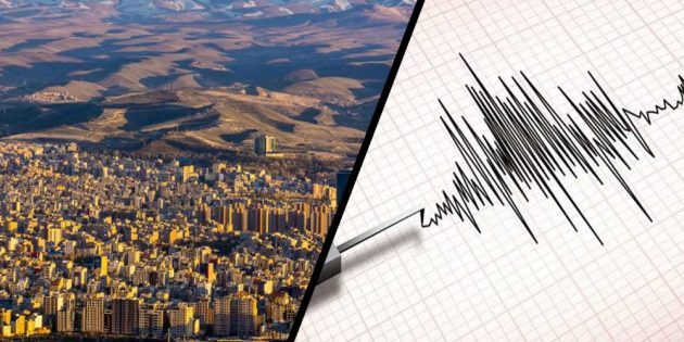 5.9 magnitude jolts Iran, killing five
