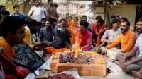 Hindu students' special Pooja for dismissing Muslim professor