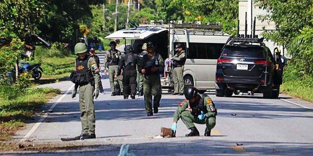 Thailand firing kills 15 police personnel