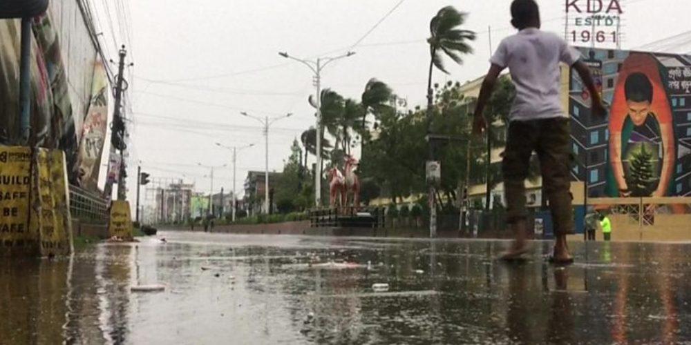 Cyclone Bulbul hit India & Bangladesh
