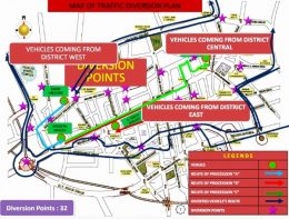 12 Rabi-ul-Awwal Traffic Plan