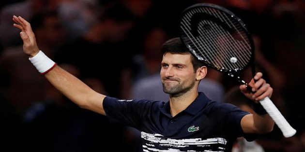 Novak Djokovic reaches the final of Paris Masters Open