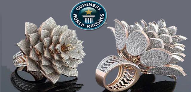 Diamond Ring Sets World Record